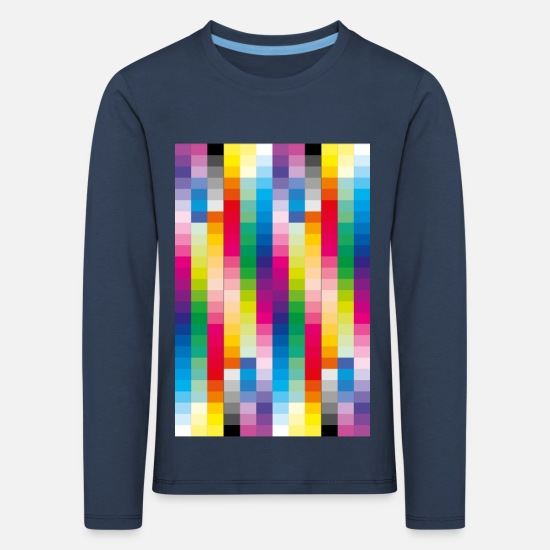 Bright Colours Long Sleeve Shirts - Colours - Kids' Premium Longsleeve Shirt navy