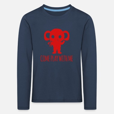 Safari Elefant - Elephant / COME PLAY WITH ME - Kinder Premium Langarmshirt
