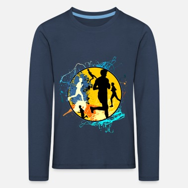 Running Sport Jogger Recreational Sports Gift Running - Kids' Premium Longsleeve Shirt