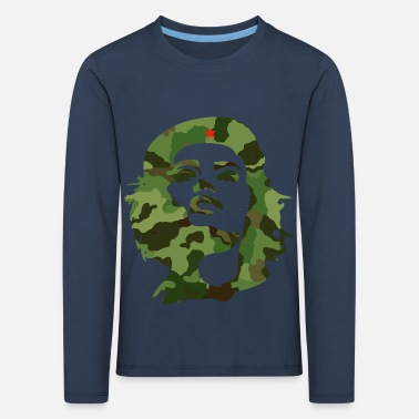 Partisans camouflage cuba revolution anti poor star che LOL - Kids' Premium Longsleeve Shirt