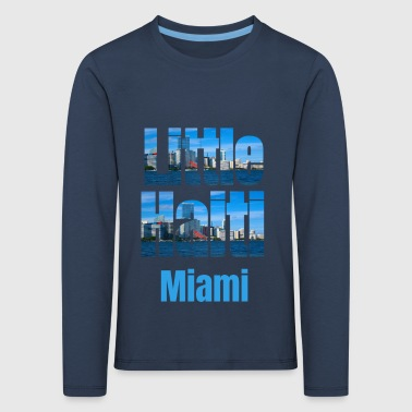 Afro Little Haiti Miami, Caribbean Style Little Haiti USA Country Tourist Gifts - Kids' Premium Longsleeve Shirt