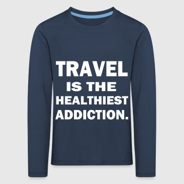 travel Searches - Kids' Premium Longsleeve Shirt