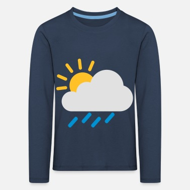 Weather Weather cloud icon - Kids' Premium Longsleeve Shirt