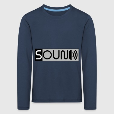 sound - Kids' Premium Longsleeve Shirt