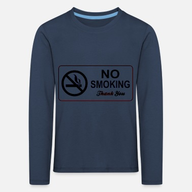 Smoking no smoking - Kids' Premium Longsleeve Shirt