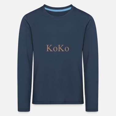 The KoKo Collection - Kids' Premium Longsleeve Shirt