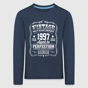 Vintage 1997 Aged to Perfection - Kids' Premium Longsleeve Shirt