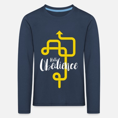 Rally Obedience Rally Obedience - Kids' Premium Longsleeve Shirt