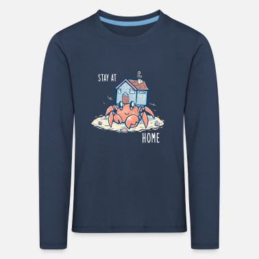 Stay at Home Hermit - Kids' Premium Longsleeve Shirt
