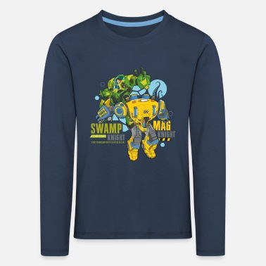 Sous les mers Swamp Knight & Mag Knight - T-shirt manches longues premium Enfant