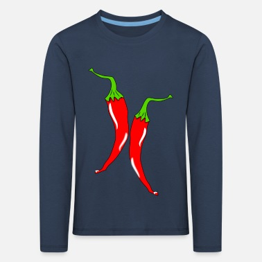 Peppers - Kids' Premium Longsleeve Shirt