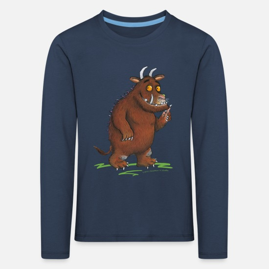 Gruffalo Long Sleeve Shirts - The Gruffalo - Kids' Premium Longsleeve Shirt navy