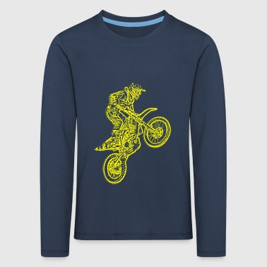enduro yellow - Kids' Premium Longsleeve Shirt