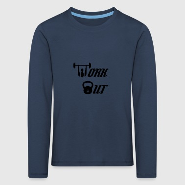 Workout - Kinder Premium Langarmshirt