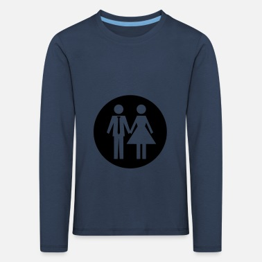 married couple - Kids' Premium Longsleeve Shirt