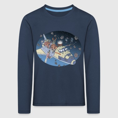 Space Adventure - T-shirt manches longues Premium Enfant