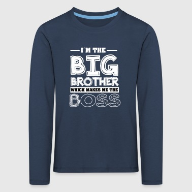 Big Brother Cool T-Shirt - Kids' Premium Longsleeve Shirt