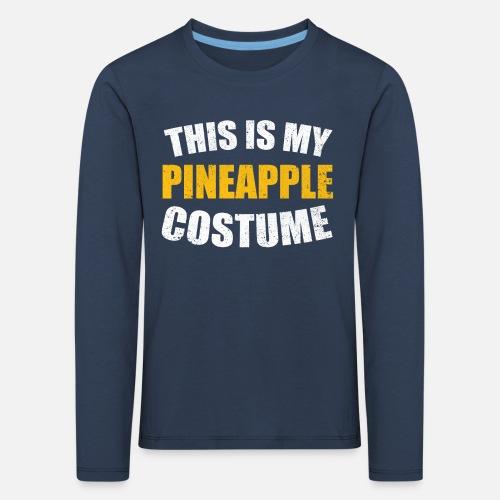 Ananas Pineapple Last Minute Halloween Kostüm Kinder Premium