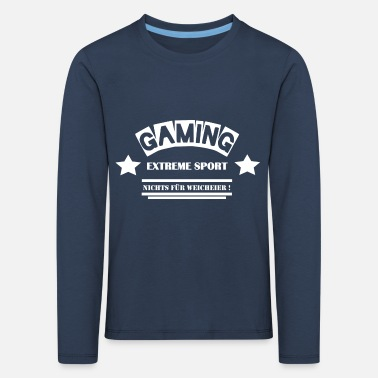 Leible Gaming - Not for the Whimsy - Leibl Designs - Kids' Premium Longsleeve Shirt