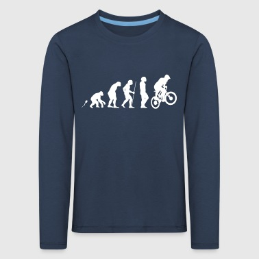 MTB Evolution Fun Shirt - Kinder Premium Langarmshirt