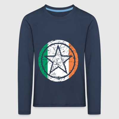 roots star heart love home Ireland png - Kids' Premium Longsleeve Shirt