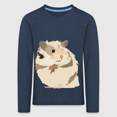 Riki the hamster - Kids' Premium Longsleeve Shirt