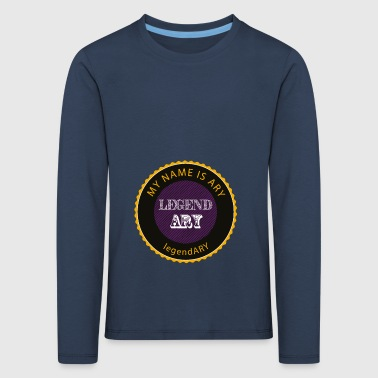 legendary shirt - Kids' Premium Longsleeve Shirt