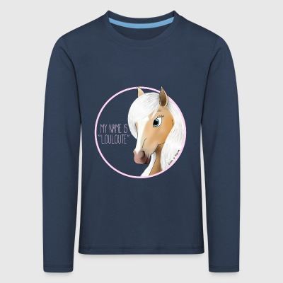 My name is LOULOUTE - Mare (Cl) - Kids' Premium Longsleeve Shirt