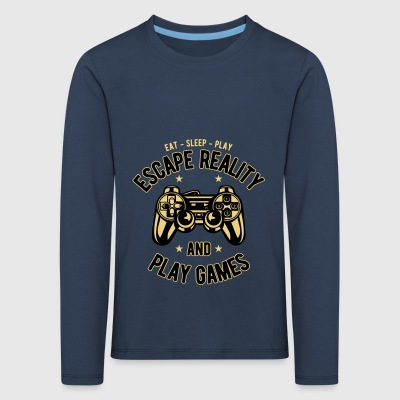 2541614 134867138 Gaming - Kids' Premium Longsleeve Shirt