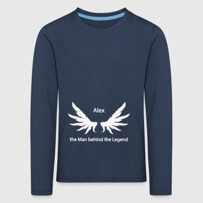 Alex the Man behind the Legend - Kids' Premium Longsleeve Shirt