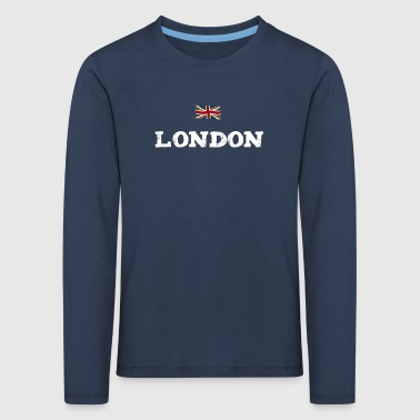 London England Union Jack brexit Great brittain lo - Kids' Premium Longsleeve Shirt