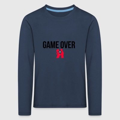 Game over - Kinder Premium Langarmshirt
