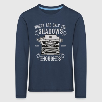Shadows Of Thoughts2 - Kids' Premium Longsleeve Shirt