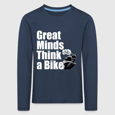 Cycling Great minds - T-shirt manches longues Premium Enfant