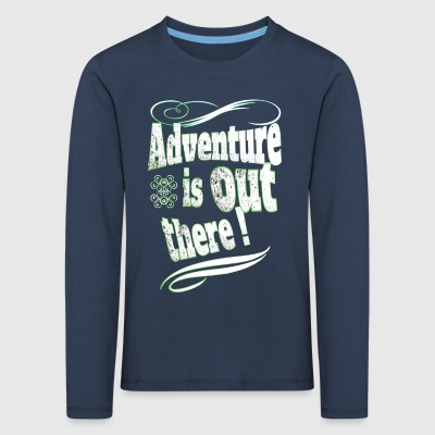 Adventure - Premium langermet T-skjorte for barn