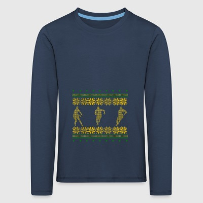 Rugby ugly pullover xmas geschenk irland sport - Kinder Premium Langarmshirt