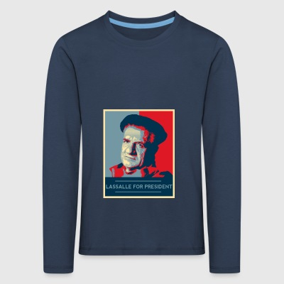 Lassalle-Obama For President - Kids' Premium Longsleeve Shirt