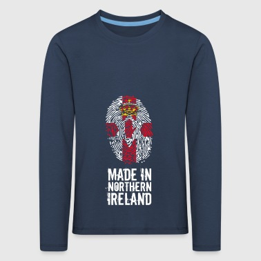 Made In Northern Ireland / Northern Ireland - Kids' Premium Longsleeve Shirt