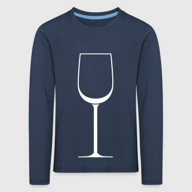 wine glass - Kids' Premium Longsleeve Shirt