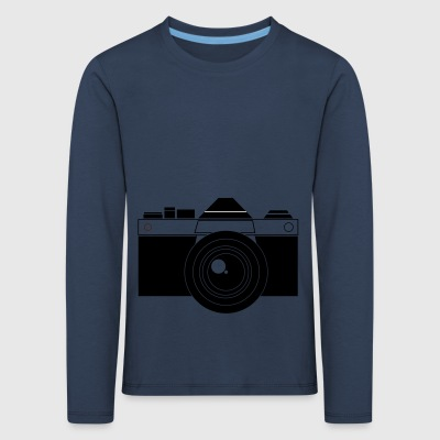Camera Vector - Kids' Premium Longsleeve Shirt