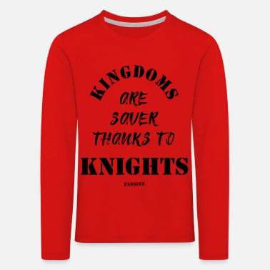 Traffic Knight Castle Kingdom Princess Dragon Gift - Kids' Premium Longsleeve Shirt