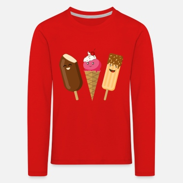 Ice threes - Kids' Premium Longsleeve Shirt