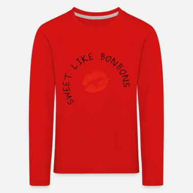 Sweet Sweet as sweets - Kids' Premium Longsleeve Shirt