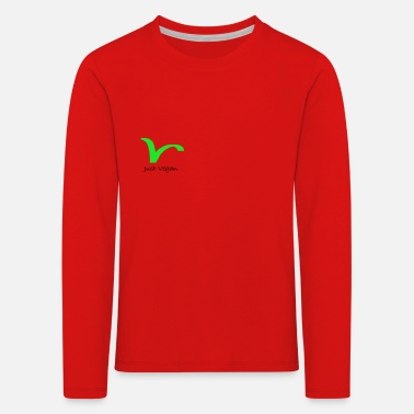 Just Vegan - Kinder Premium Langarmshirt