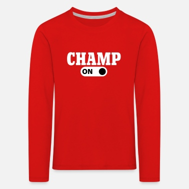 Champ Champion Champ on - T-shirt manches longues Premium Enfant