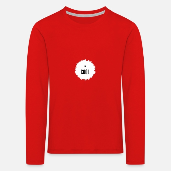 cool Long Sleeve Shirts - Cool - Kids' Premium Longsleeve Shirt red