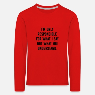 Provocation Provocation provocative Provoke - Kids' Premium Longsleeve Shirt