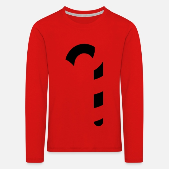Chic Long sleeve shirts - Barley sugar - Kids' Premium Longsleeve Shirt red