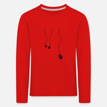 Mp3 headphones mp3 - Kids' Premium Longsleeve Shirt