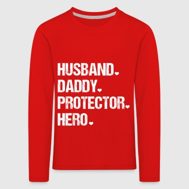 Mens Cute Funny Fathers Day - Kids' Premium Longsleeve Shirt
